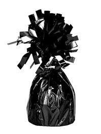4941 Black Foil Balloon Weights