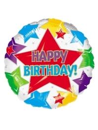 "18"" Star Birthday Balloon"