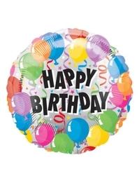 """18"""" Birthday Balloons Balloon"""