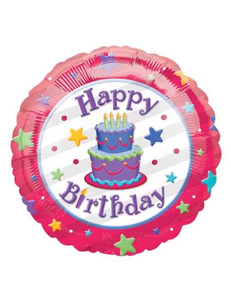 18 Birthday Cake Balloons
