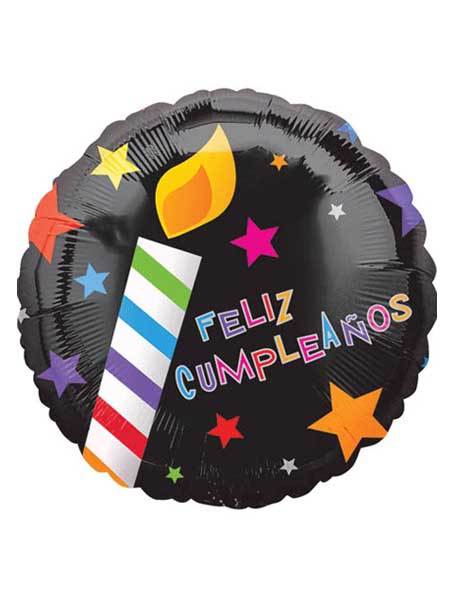 18 Feliz Cumpleanos Balloon