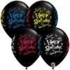 "11"" Birthday Blast Latex Balloons"