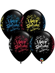 "11"" Birthday Blast Latex Balloons"