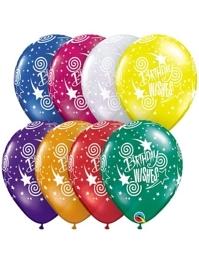 "11"" Birthday Wishes Latex Balloons"