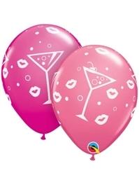 """11"""" Mixed Drinks Bubbly Latex Balloons"""