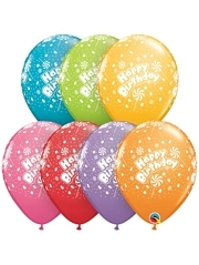 11 Birthday Candy A Round Latex Balloons