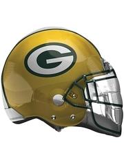 "22"" Green Bay Packers NFL Team Helmet Shape Balloon"