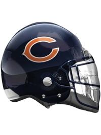 """22"""" Chicago Bears NFL Team Helmet Shape Balloon"""