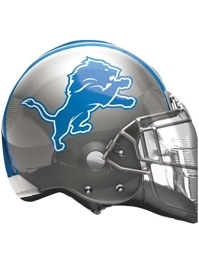 "22"" Detroit Lions NFL Team Helmet Shape Balloon"