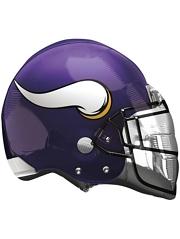 """22"""" Minnesota Vikings NFL Team Helmet Shape Balloon"""