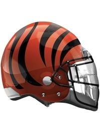 """22"""" Cincinnati Bengals NFL Team Helmet Shape Balloon"""