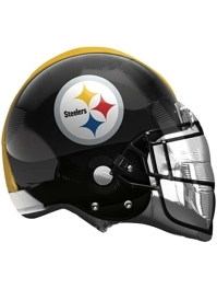"22"" Pittsburgh Steelers NFL Team Helmet Shape Balloon"