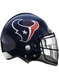 "22"" Houston Texans NFL Team Helmet Shape Balloon"