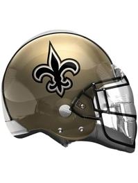 "22"" New Orleans Saints NFL Team Helmet Shape Balloon"