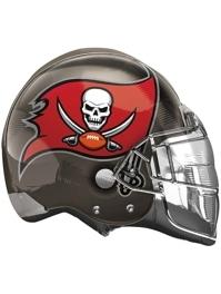 "22"" Tampa Bay Buccaneers NFL Team Helmet Shape Balloon"