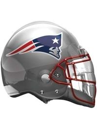 "22"" New England Patriots NFL Team Helmet Shape Balloon"