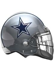 "22"" Dallas Cowboys NFL Team Helmet Shape Balloon"