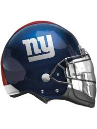 """22"""" New York Giants NFL Team Helmet Shape Balloon"""