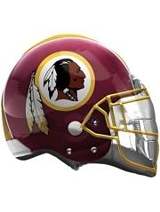 """22"""" Washington Redskins NFL Team Helmet Shape Balloon"""