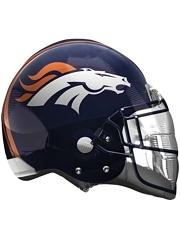 """22"""" Denver Broncos NFL Team Helmet Shape Balloon"""