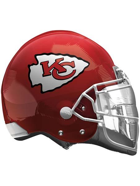 ae35448598f 22″ Kansas City Chiefs NFL Team Helmet Shape Balloon Helium / Air A26304 –  MF58775