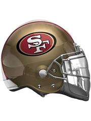 "22"" San Francisco 49ers NFL Team Helmet Shape Balloon"