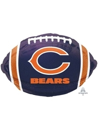 "18"" Chicago Bears NFL Team Football Shape Balloon"