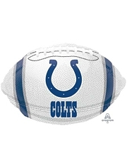 "18"" Indianapolis Colts NFL Team Football Shape Balloon"