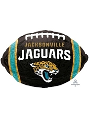 """18"""" Jacksonville Jaguars NFL Team Football Shape Balloon"""