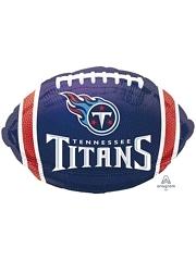 "18"" Tennessee Titans NFL Team Football Shape Balloon"