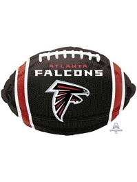 "18"" At;anta Falcons NFL Team Football Shape Balloon"