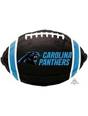 "18"" Carolina Panthers NFL Team Football Shape Balloon"