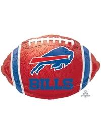 "18"" Buffalo Bills NFL Team Football Shape Balloon"