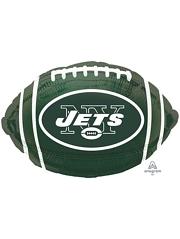 "18"" New York Jets NFL Team Football Shape Balloon"