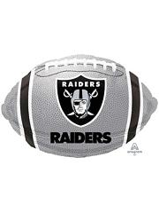 "18"" Oakland Raiders NFL Team Football Shape Balloon"