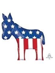 """32"""" Election Democrat Patriotic Balloon"""