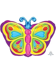 "18"" Bright Butterfly Balloon"