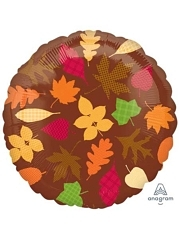 "18"" Autumn Leaves Thanksgiving Balloon"