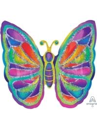 "25"" Butterfly Sparkles Balloon"