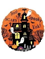 "18"" Spooky Haunted House Halloween Balloon"