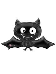 "41"" Black Bat Shape Halloween Balloon"
