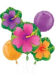 Tropical Hibiscus Balloon Assortment