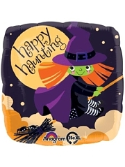 "18"" Cute Witch Halloween Balloon"
