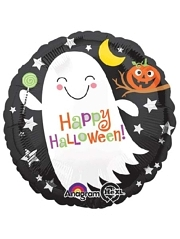 """18"""" Ghost With Candy Holloween Balloon"""
