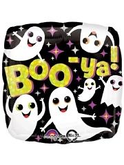 """18"""" Boo Ya Ghosts Halloween Balloon"""