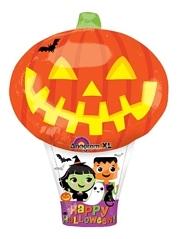 """23"""" Pumpkin Hot Air Halloween Balloon"""
