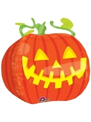"18"" Pumpkin Shape Halloween Balloon"