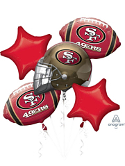 San Francisco 49ers NFL Team Balloon Assortment