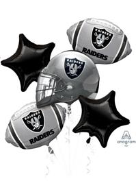 Oakland Raiders NFL Team Balloon Assortment