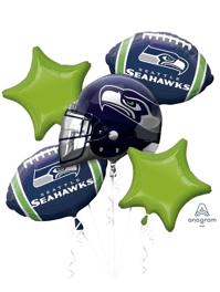 Seattle Seahawks NFL Team Balloon Assortment